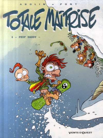 Couverture Totale maîtrise tome 4