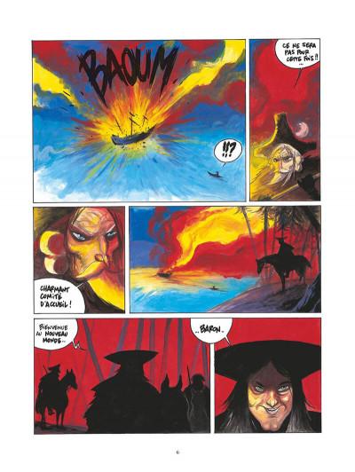 Page 7 les aventures oubliées du baron de münchhausen tome 2 - les amériques