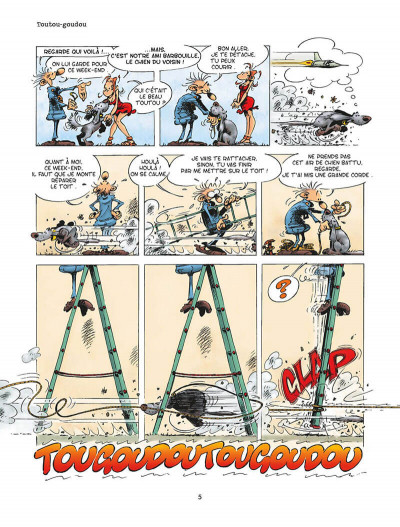 Page 8 b comme bricoleur tome 2 - c'est au pied du bricoleur qu'on voit le mur