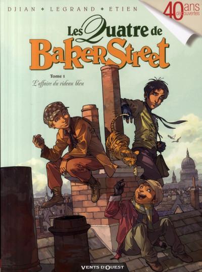 Couverture Les quatre de baker street tome 1
