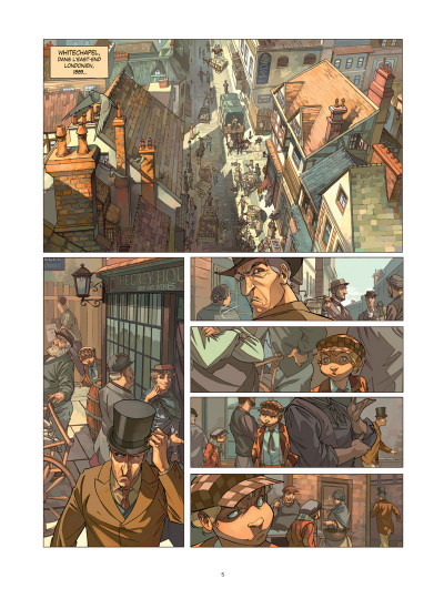 Page 1 Les quatre de baker street tome 1