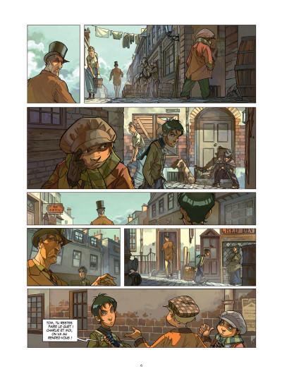 Page 2 Les quatre de baker street tome 1