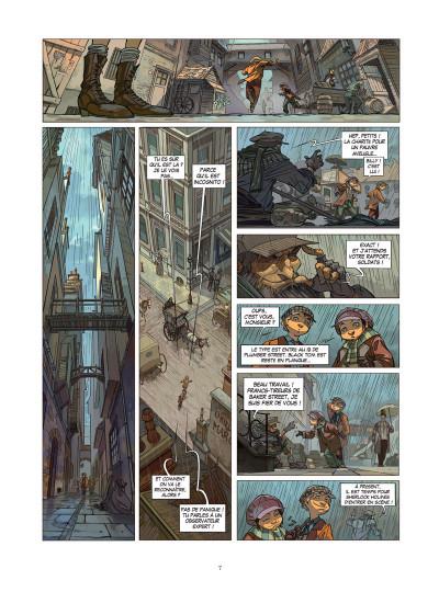 Page 3 Les quatre de baker street tome 1