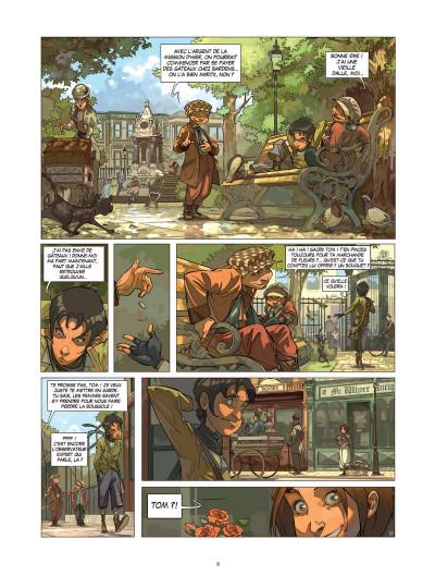 Page 4 Les quatre de baker street tome 1