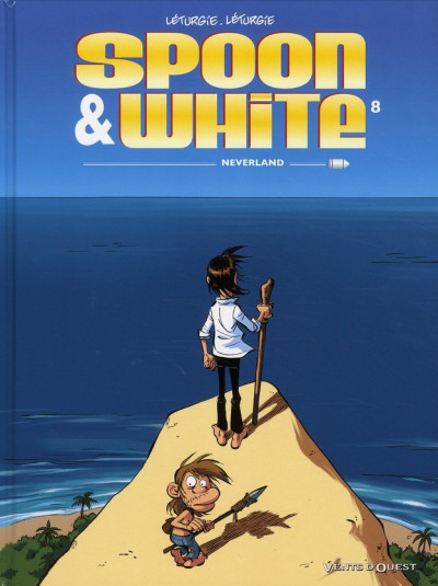 Couverture spoon & white tome 8 - neverland