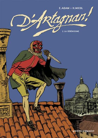 Couverture d'artagnan tome 2 - la sérénissime