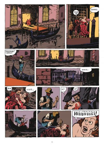 Page 1 d'artagnan tome 2 - la sérénissime