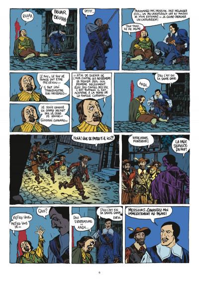 Page 4 d'artagnan tome 2 - la sérénissime
