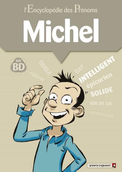 image de l'encyclopédie des prénoms en bd tome 31 - michel