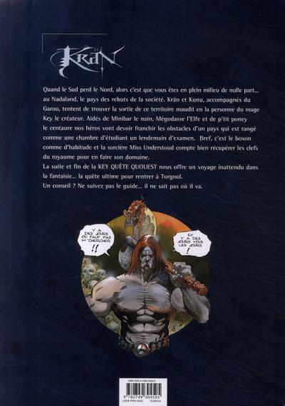 Dos krän le barbare tome 9 - the key quest quourst tou