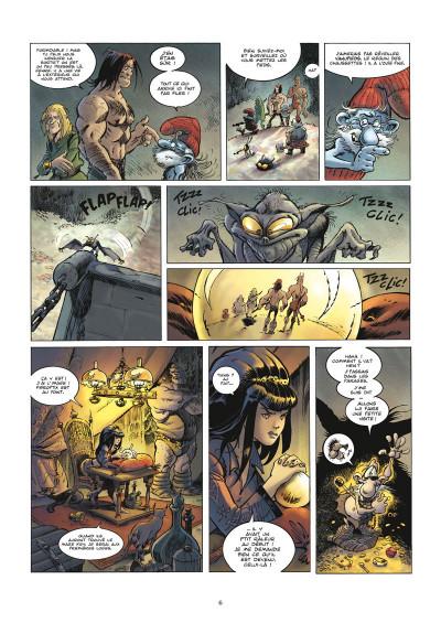 Page 4 krän le barbare tome 9 - the key quest quourst tou