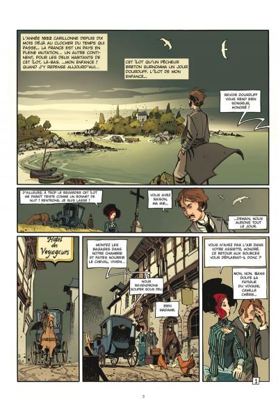 Page 1 l'école capucine tome 1 - venin de village