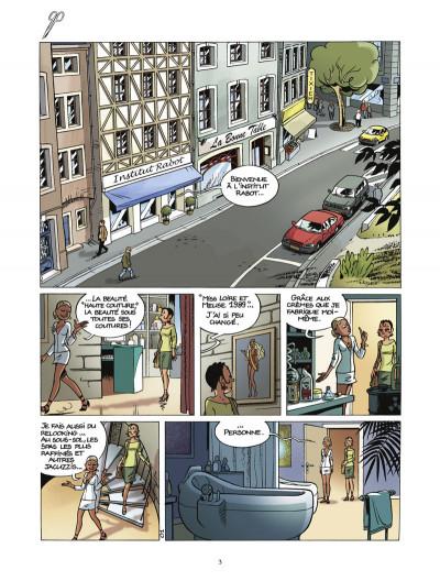 Page 1 beauté fatale tome 1 - gommages et intérêts