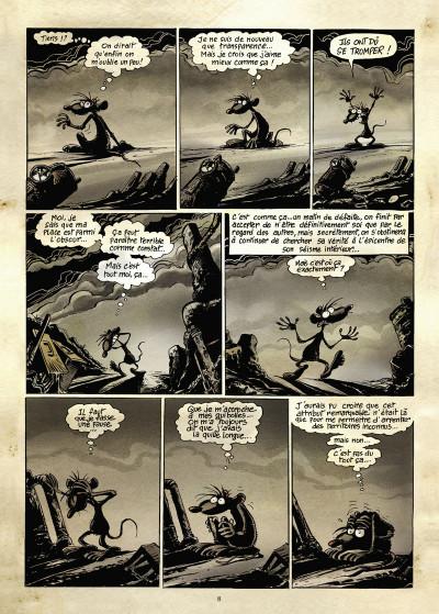 Page 4 pacush blues tome 13 - correspondance avec les corps obscurs