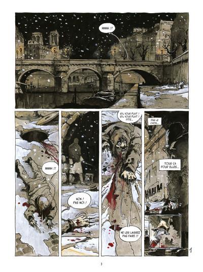 Page 1 l'île des morts ; intégrale