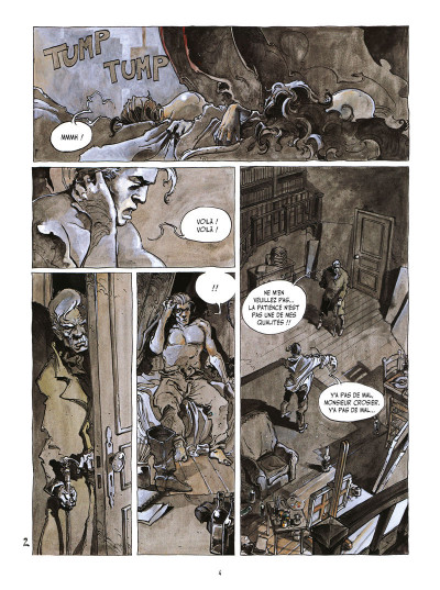 Page 2 l'île des morts ; intégrale