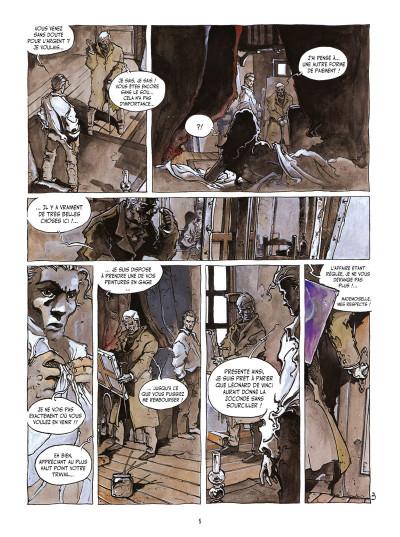 Page 3 l'île des morts ; intégrale