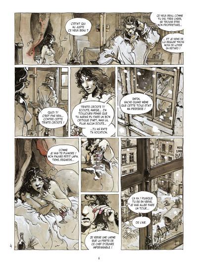 Page 4 l'île des morts ; intégrale