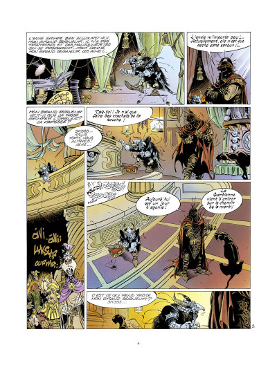 Page 2 l'épée de cristal ; intégrale 40 ans glénat