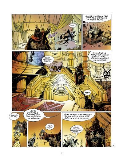 Page 3 l'épée de cristal ; intégrale 40 ans glénat