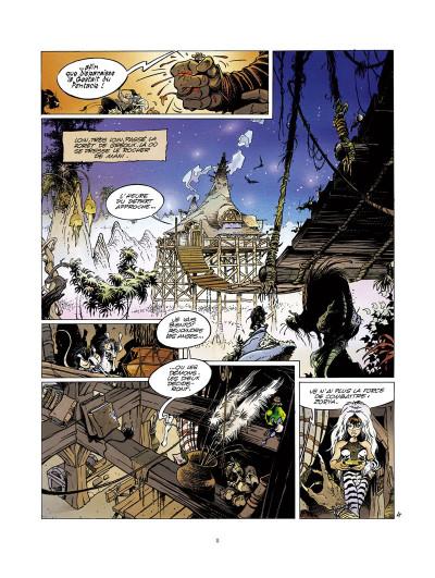 Page 4 l'épée de cristal ; intégrale 40 ans glénat