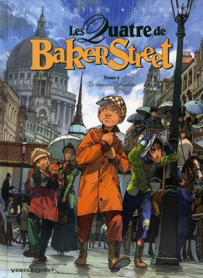 Couverture Les quatre de Baker street tome 2