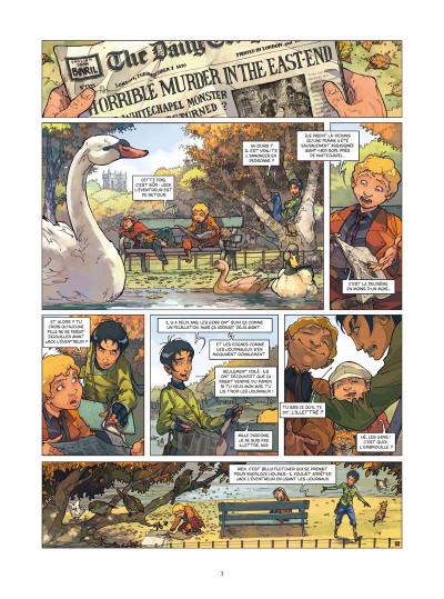 Page 1 Les quatre de Baker street tome 2