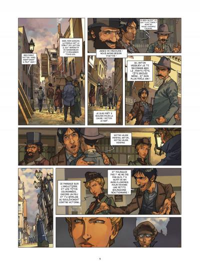 Page 3 Les quatre de Baker street tome 2