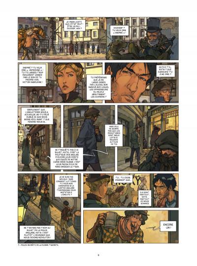 Page 4 Les quatre de Baker street tome 2
