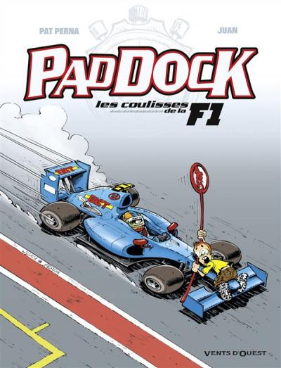 image de paddock, les coulisses de la f1 tome 3