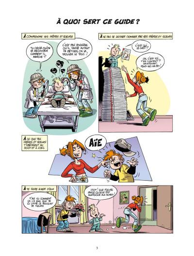 Page 1 le guide junior ; pour bien dresser ses frères et soeurs
