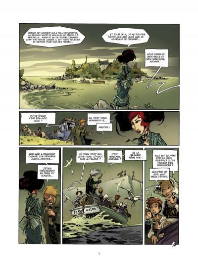Page 1 l'école capucine tome 2 - l'héritier