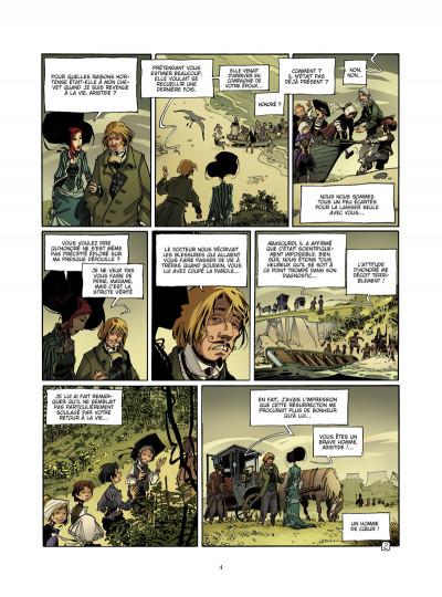 Page 2 l'école capucine tome 2 - l'héritier