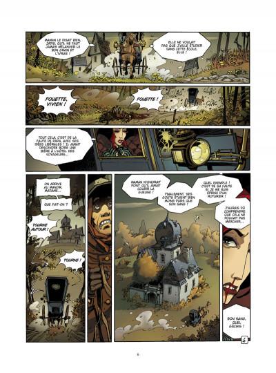 Page 4 l'école capucine tome 2 - l'héritier