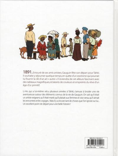 Dos Gauguin ; deux voyages à Tahiti