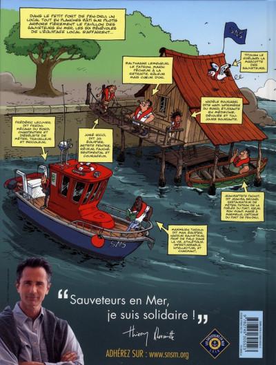 Dos les sauveteurs en mer tome 1 - alerte à Pen Dru