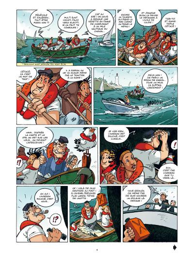 Page 2 les sauveteurs en mer tome 1 - alerte à Pen Dru