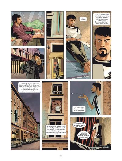 Page 3 Silien Melville tome 2 - retour de manivelle