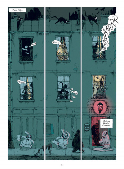 Page 1 chambres noires T.1 - esprit, es-tu là ?