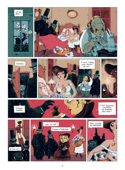 Page 3 chambres noires tome 1 - esprit, es-tu là ?