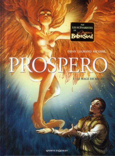 Couverture Prospero tome 1 - le mage de Milan