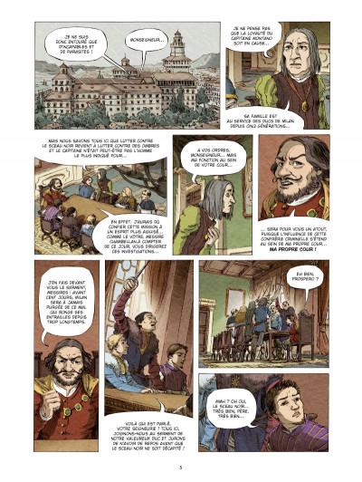 Page 3 Prospero tome 1 - le mage de Milan