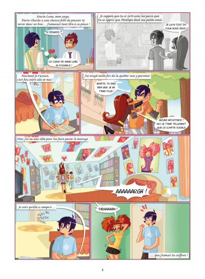 Page 2 Marie-Lune tome 3 - je suis trop love de lui !