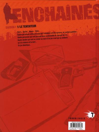 Dos les enchaînés - saison 1 tome 1 - le tentateur (édition 2010)