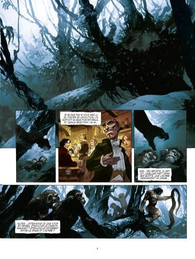 Page 3 John Arthur Livingstone - le roi des singes tome 1