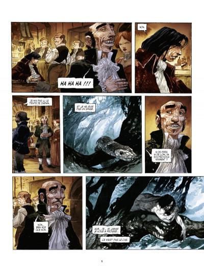 Page 4 John Arthur Livingstone - le roi des singes tome 1