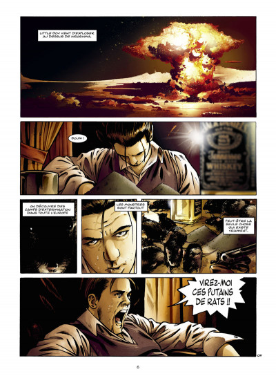 Page 4 la poussière des anges tome 1 - Blanche Neige