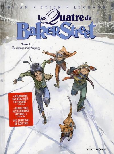 Couverture Les quatre de Baker street tome 3