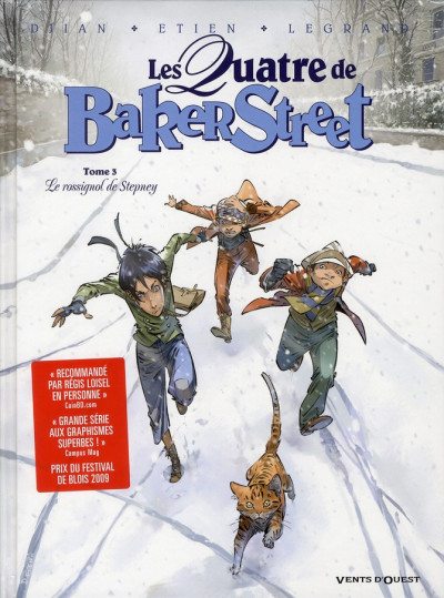 image de Les quatre de Baker street tome 3 - le rossignol de Stepney