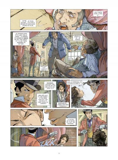 Page 1 Les quatre de Baker street tome 3